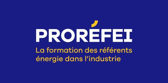 logo prorefei la formation des référents énergie dans l'industrie